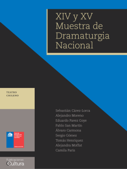 XIV y XV Muestra de Dramaturgia Nacional
