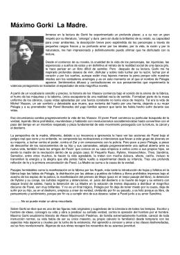 Máximo Gorki La Madre. - Partido Comunista del Ecuador