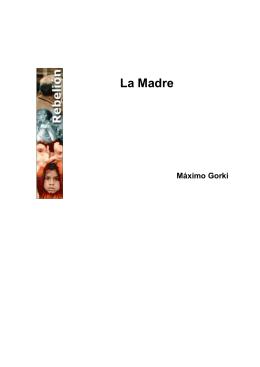 """""""La Madre"""" de Máximo Gorki"""