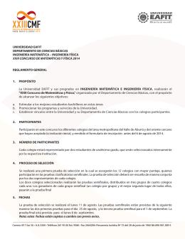 reglamento estándar 2014