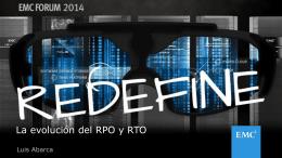 La evolución del RPO y RTO