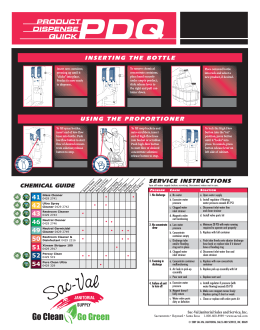 DCS-Wall Chart:Layout 1.qxd - Sac-Val Janitorial Sales and Service