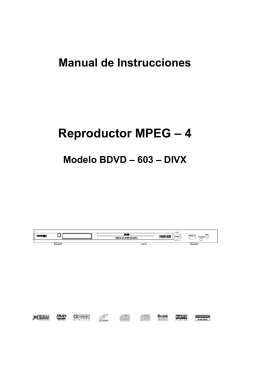 Reproductor MPEG – 4
