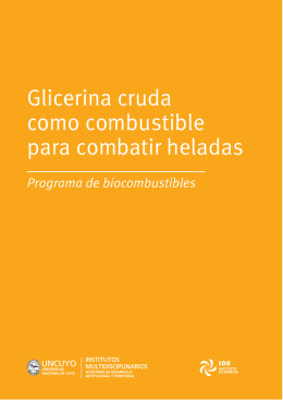 folleto glicerina copy - Universidad Nacional de Cuyo