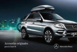 Accesorios originales - Grupo Itra Mercedes en Madrid