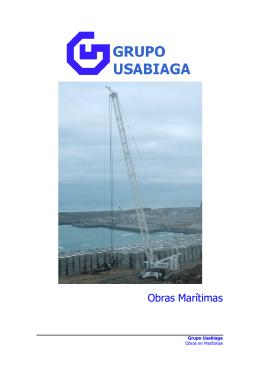 Obras Marítimas - grupo ausculnova
