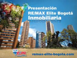 RE/MAX Elite Bogotá Inmobiliaria.