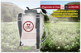 Plaguicidas de Clase en BOLIVIA
