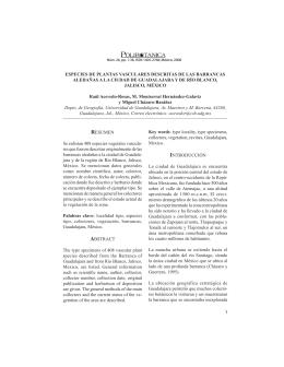 versión extensa  - Herbario ENCB