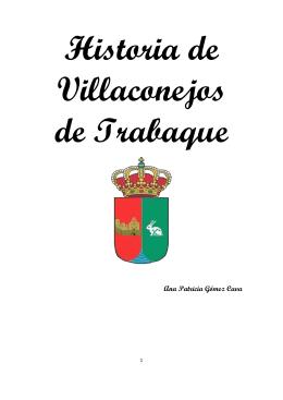 Historia de Villaconejos de Trabaque