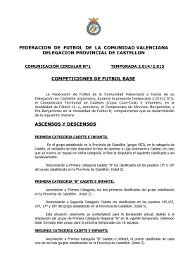 enlace - FFCV | Federación de fútbol de la Comunidad Valenciana