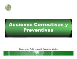 Acciones Correctivas y preventivas [julio 2005].ppt [Sólo lectura]
