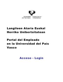 Ayuda para el acceso/login