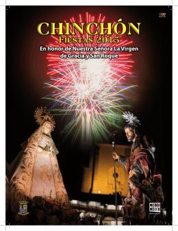 Programa de Fiestas - Ayuntamiento de Chinchón