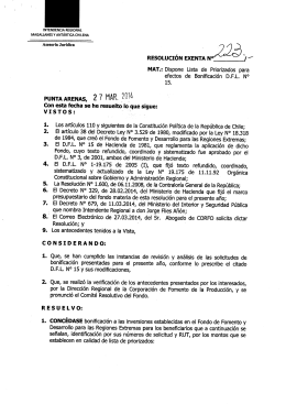 enlace - Ministerio del Interior y Seguridad Pública
