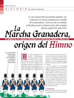 La Marcha Granadera, origen del Himno Nacional