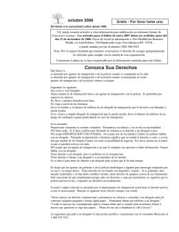 Octubre 2006 - Conexiones Latinas