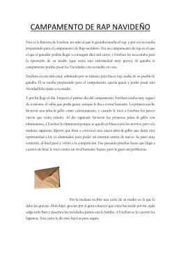 CAMPAMENTO DE RAP NAVIDEÑO - Colegio San Juan y San Pablo