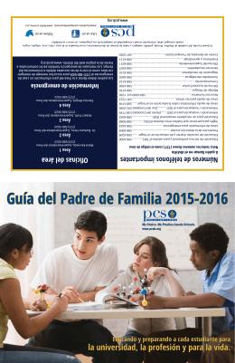 Guía del Padre de Familia 2015-2016