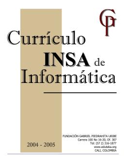 FUNDACIÓN GABRIEL PIEDRAHITA URIBE Carrera 100