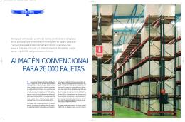 almacén convencional para 26.000 paletas