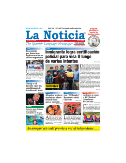 La Noticia - The Spanish