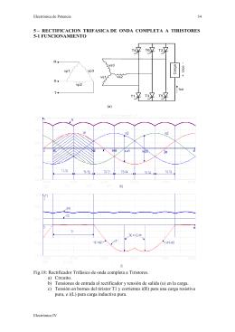 rectificacion trifasica de onda completa a tiristores
