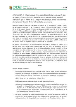 DOE 2011 - Nº 117.qxd - Diario Oficial de Extremadura