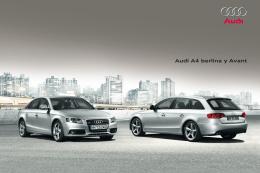 Audi A4 berlina y Avant