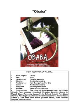 """""""Obaba"""""""