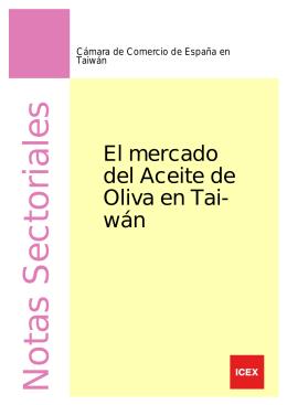 Aceite de Oliva en Taiwan 08/2006.