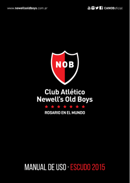 Manual de Uso - Escudo Newell`s Old Boys ()