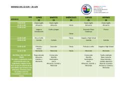 semana del 22 jun - Sabadell High School