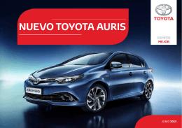Dossier Toyota Auris 2015