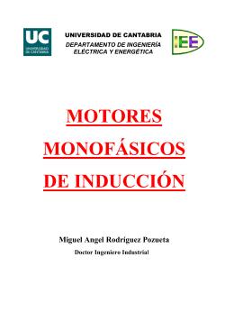 Motores monofásicos de inducción