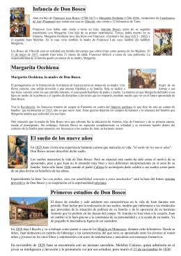 Reseña biográfica de Don Bosco