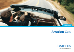 Amadeus Cars