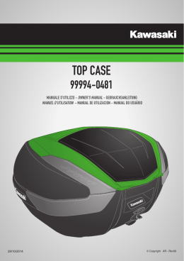 TOP CASE - Kawasaki