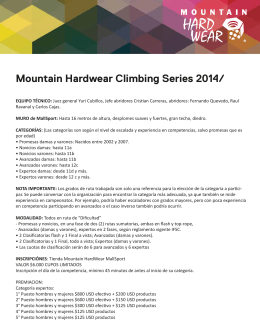 Mountain Hardwear Climbing Series 2014/