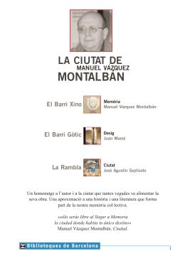 pdf Montalban - Ajuntament de Barcelona