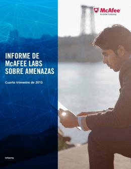 Informe de McAfee Labs sobre amenazas   Cuarto