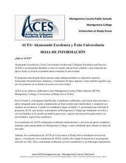 ACES - Montgomery County Public Schools