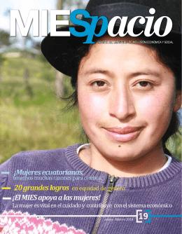 ¡El MIES apoya a las mujeres! ¡Mujeres ecuatorianas,
