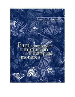 Para comprender la migración de la mariposa Monarca (1857