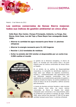 Descargar PDF - Sonae Sierra