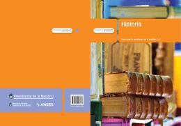 Historia - Biblioteca de Libros Digitales