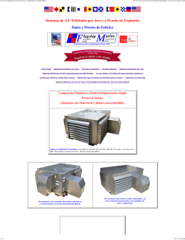 Air Cooled and Explosion Proof marine air conditioning by Flagship