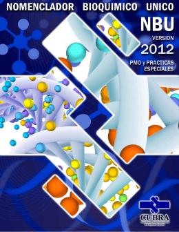 Nomenclador Bioquímico Unico - NBU