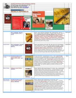 Música - LEA Book Distributors