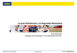 PowerPoint Master MAKRO Country - Clúster Alimentario de Galicia